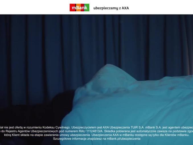 """""""Bo prosto znaczy bezpiecznie"""" - mBank reklamuje ubezpieczenia od AXA"""