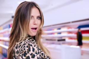 Odzież Esmara od Heidi Klum w Lidlu - reklama