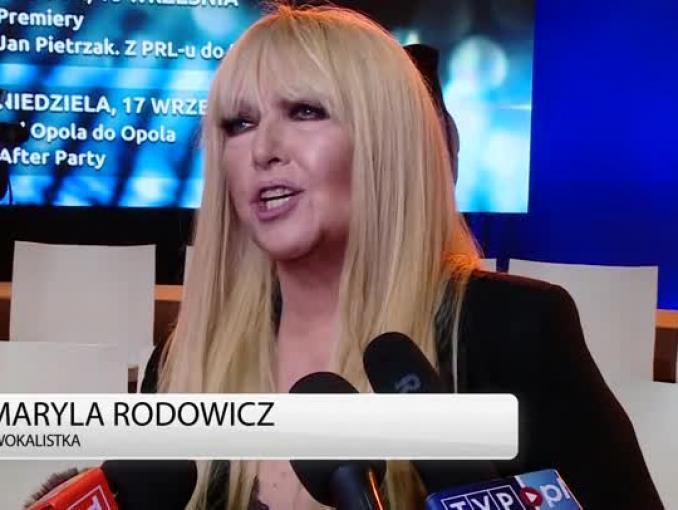 Maryla Rodowicz: Opole zawsze było miejscem, które jednoczyło artystów