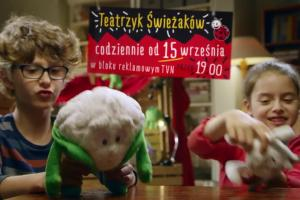 """Teatrzyk Świeżaków - cykl Biedronki przed """"Faktami"""" TVN"""