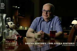 """""""Drunk History - Pół litra historii"""" od 12 października w Comedy Central. Emisja w czwartkowe wieczory"""