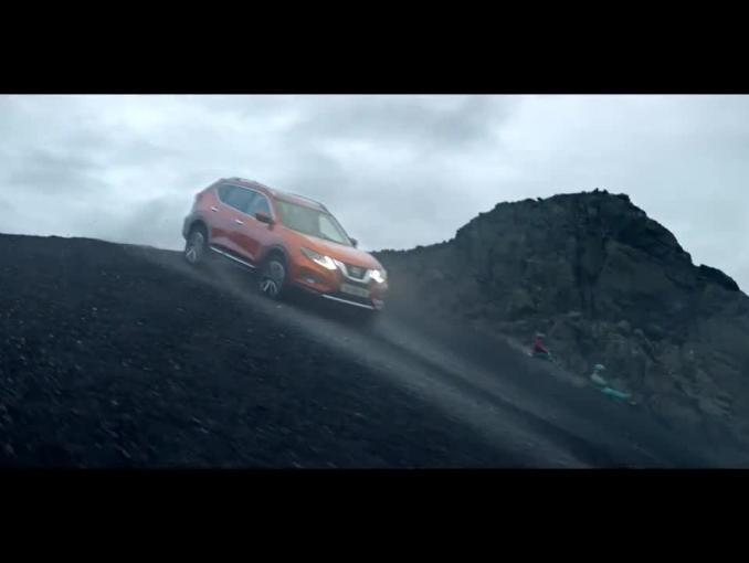 """Nowy Nissan X-Trail reklamowany jako """"partner rodzinnych wyzwań"""""""