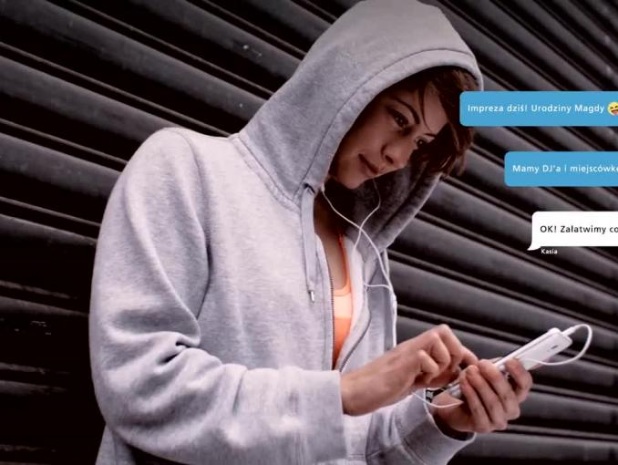 EnveloBank - spot aplikacji mobilnej
