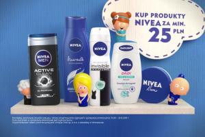 Pacynki w loterii kosmetyków Nivea