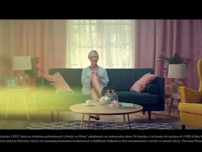 Raiffeisen Polbank reklamuje pożyczkę DanyKesz