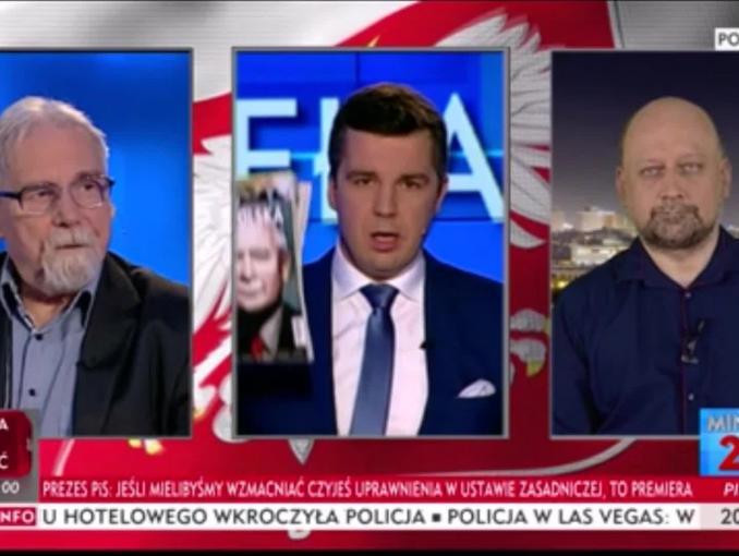 """Michał Rachoń w """"Minęła 20"""" promuje """"Gazetę Polską"""""""