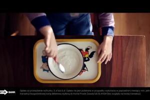 Konto Proste Zasady w Getin Banku - reklama z człowiekiem z zasadami
