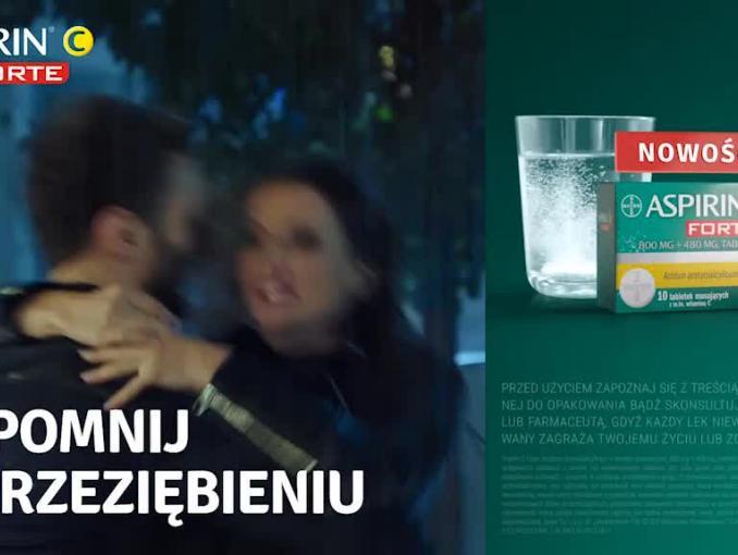 """""""Zapomnij o przeziębieniu"""" - spot Aspirin C"""