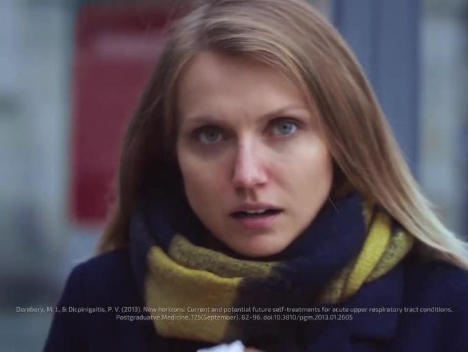 """Coldrex reklamowany jako """"silniejszy od przeziębienia i grypy"""""""
