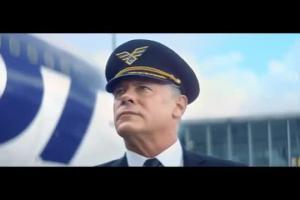 Opowieść pilota w reklamie PLL LOT