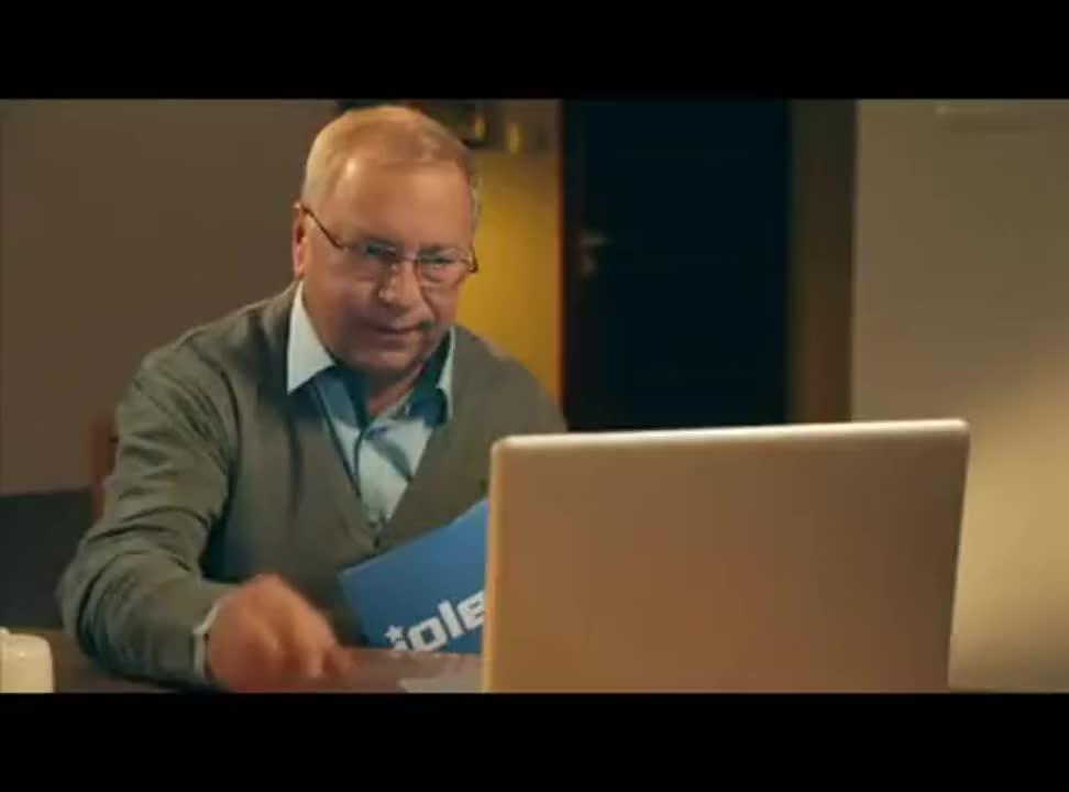 Jerzy Stuhr w reklamie iplex.pl