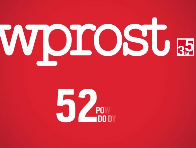 """Redaktor naczelny """"Wprost"""" promuje tygodnik"""