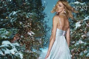 Anja Rubik w bożonarodzeniowej reklamie biżuterii Apart