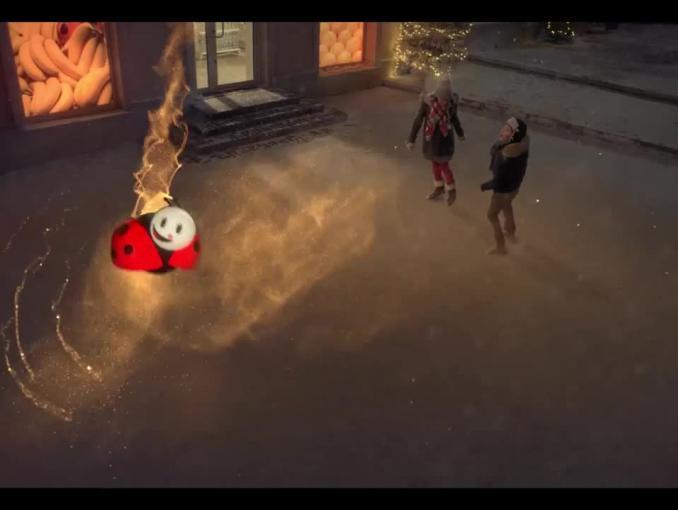 Biedronka reklamuje zabawki na Boże Narodzenie