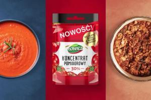 Nowość od Łowicza - koncentrat pomidorowy w saszetce