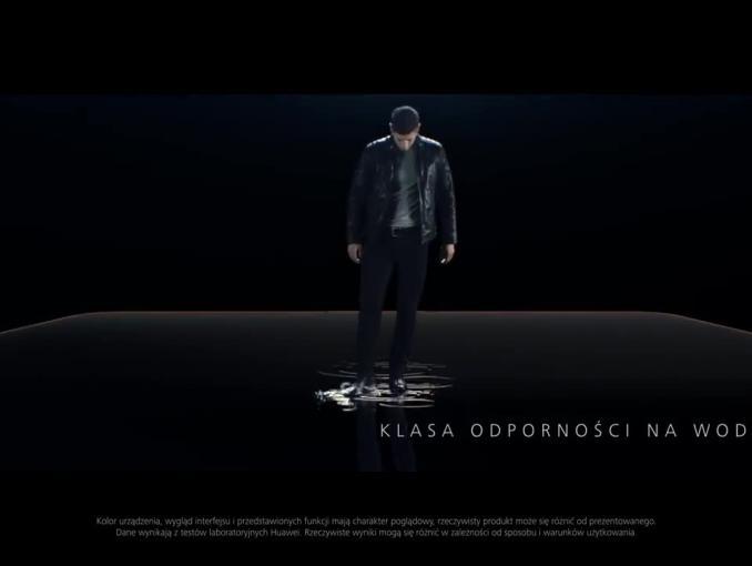 Smartfony Huawei Mate 10 - reklama z Robertem Lewandowskim