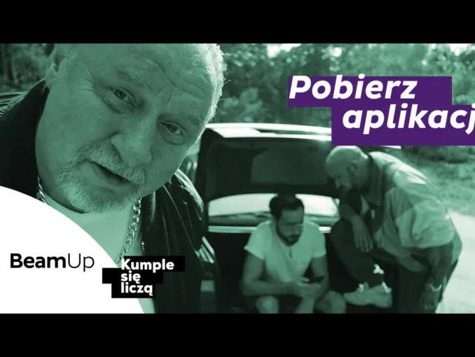 """""""Rodzina Oddano"""" - Grabowski i Oświeciński reklamują aplikacje BeamUp"""