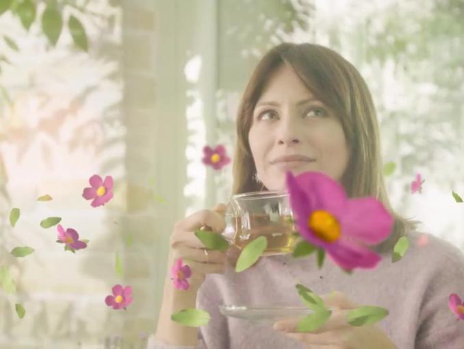 Herbapol reklamuje herbatki ziołowe Zielnik Polski