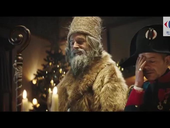 Wigilijna wieczerza z Napoleonem - świąteczna kampania Carrefour