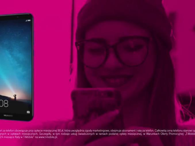 Huawei Mate 10 lite za 1 zł w promocji T-Mobile - spot