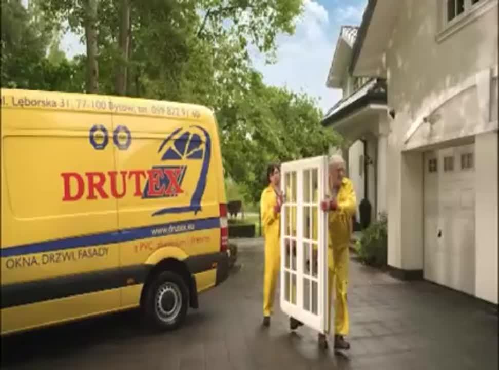 reklama okien Drutex
