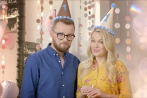 Urodzinowa oprawa HGTV