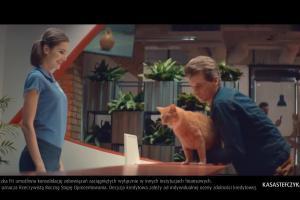 Odchudzanie kotów reklamuje Pożyczkę Fit w Kasie Stefczyka