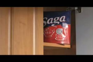 Saga - reklama z MisioKubkami