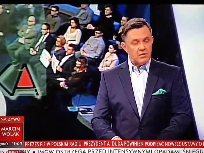 """Magdalena Ogórek do widzów """"Studia Polska"""": mamy usterki w oprogramowaniu od emisji tweetów"""