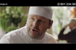 Kucharze reklamują promocję w Orange dla Firm