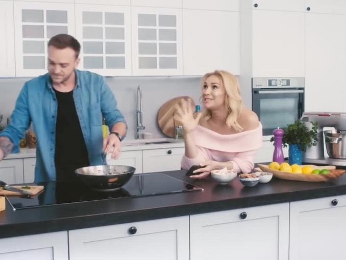 Sonia Bohosiewicz i Mateusz Gessler w kampanii Akademii Smaku marki Bosch