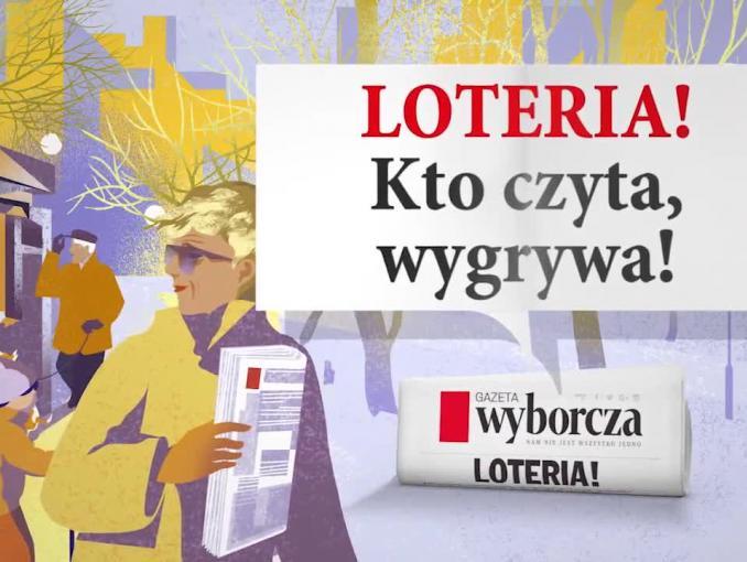 """""""Gazeta Wyborcza"""" loterią promuje prenumeratę teczkową"""