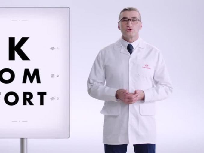 Vision Express namawia do badania wzroku