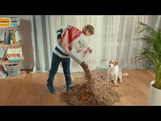 Cyfrowy Polsat reklamuje ofertę telewizyjną z HBO, Cinemax i Eleven Sports