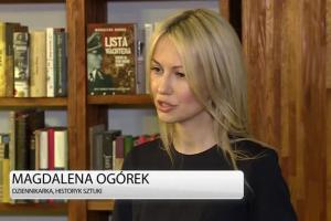Magdalena Ogórek: Za historią w mojej ostatniej książce stoi sensacyjne śledztwo
