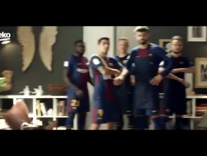 Piłkarze FC Barcelony zachęcają do zdrowego odżywania najmłodszych w kampanii Beko