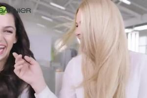 Katarzyna Bujakiewicz i Agnieszka Więdłocha reklamują Garnier Color Naturals