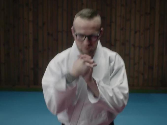 Judo w reklamie Vision Express