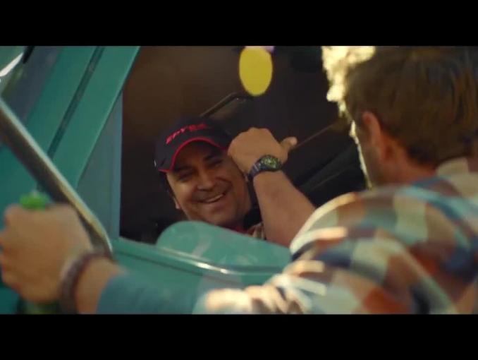 """Ten moment z Leszkiem"" w reklamie piwa Lech"