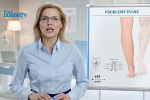 """""""Podwójna dawka w 1 tabletce"""" - reklama Dobenox Forte"""