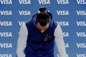 Zlatan Ibrahimović twarzą mundialowej kampanii reklamowej Visa