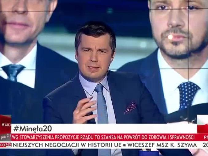 """Michał Rachoń kontra Adam Szejnfeld w """"Minęła 20"""""""
