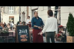 Włoska pizzeria w spocie Orange Love dla Firm