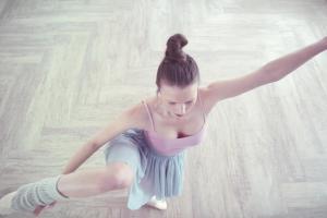 Baletnica promuje wodę Żywiec Zdrój