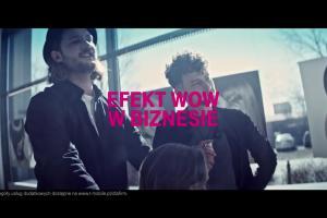 Dorota Wellman reklamuje Magenta Biznes od T-Mobile