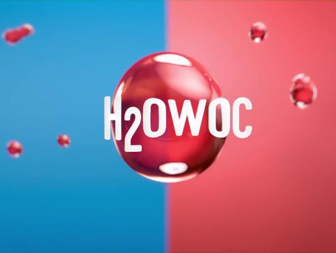 "Tymbark H2Owoc reklamowany jako ""i woda i sok"""