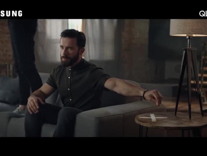 Adam Nawałka promuje telewizory Samsung QLED TV