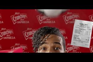 Wyjście z grupa w loterii chipsów Crunchips