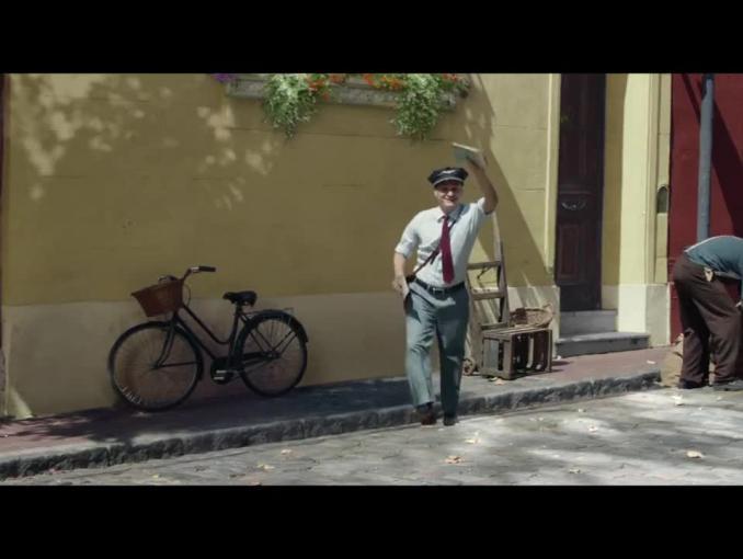 """""""Delikatność w sercu"""" reklamuje czekoladę Milka"""