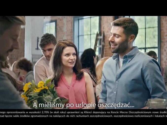 Alior Bank reklamuje Konto Mocno Oszczędnościowe